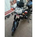 Moto Cinquentinha 49cc Ciclomotor Cor Preta Motor 4 Tempos