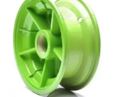 Roda Dianteira Walk Machine Cor Verde