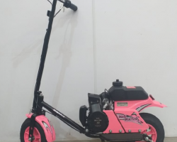 Walk Machine 37cc Vega Motos Maringa Cor Rosa