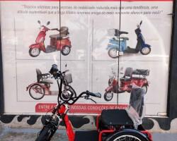 Triciclo Elétrico Marcha Ré Freio Disco Alarme (Promoção)