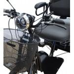 Triciclo Elétrico Vega Motos Suspensão Traseira E Função Ré