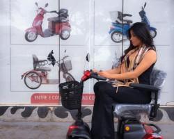 Quadriciclo Scooter Elétrico Para Cadeirante Idoso Parc 60x*